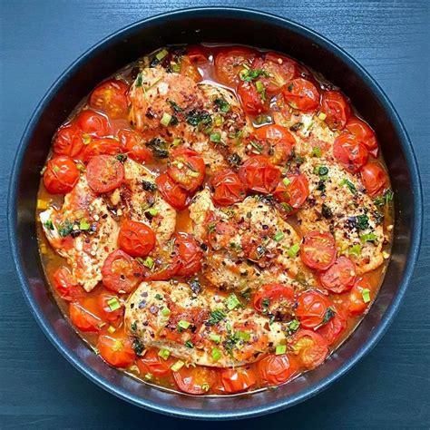 Sulīgā vistas fileja tomātos - INSTA receptes - tavs ...
