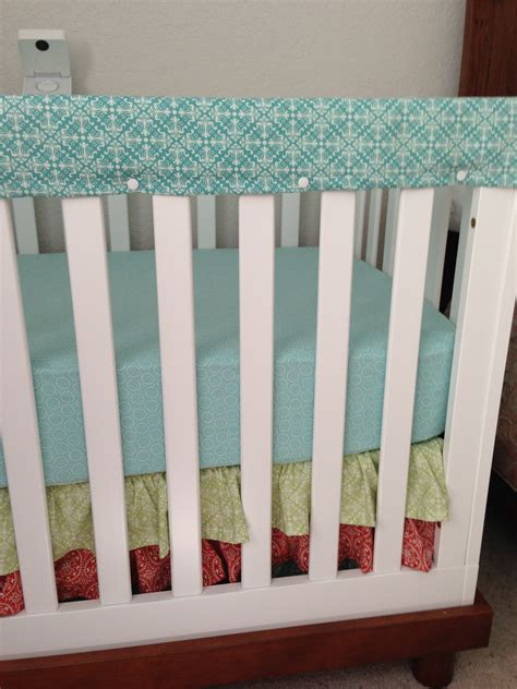 diy crib rail cover nursery decor crib rail cover litcentric