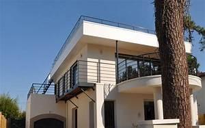 Maison Année 50 : sur l vation d 39 une maison des ann es 50 royan charente ~ Voncanada.com Idées de Décoration
