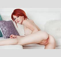 Wallpaper Redhead Pussy Nude Sexy Naked Beautiful Eyes Charming Smile Spreading Desktop