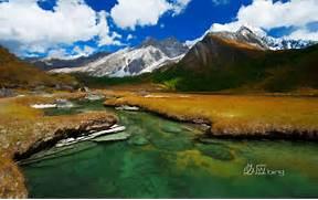 Beautiful Lake Mountai...Beautiful Nature Scenery Wallpapers