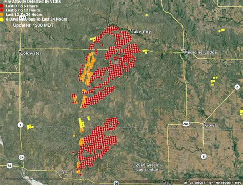 Anderson Creek fire in Oklahoma and Kansas - Wildfire Today
