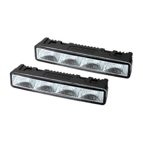 philips 4 led daylight daytime running lights drl fog blingwork automotive lighting