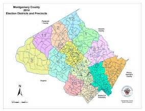 Montgomery County School District Map