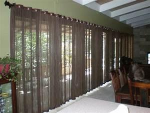 Gardinen Große Fensterfront : 60 elegante designs von gardinen f r gro e fenster ~ Michelbontemps.com Haus und Dekorationen