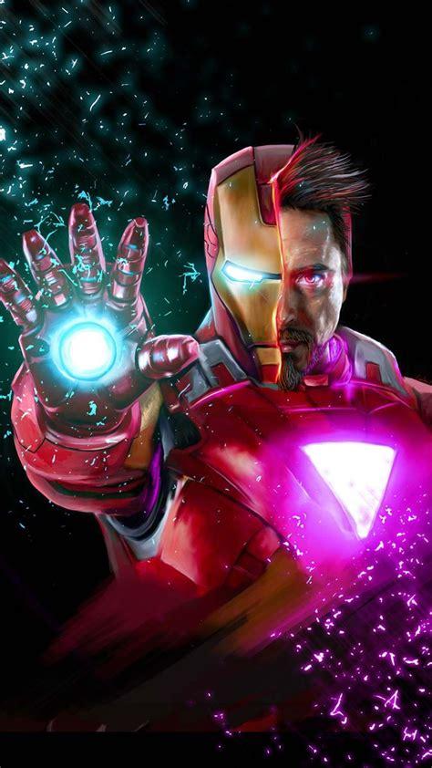 avengers endgame tony stark iron man iphone wallpaper