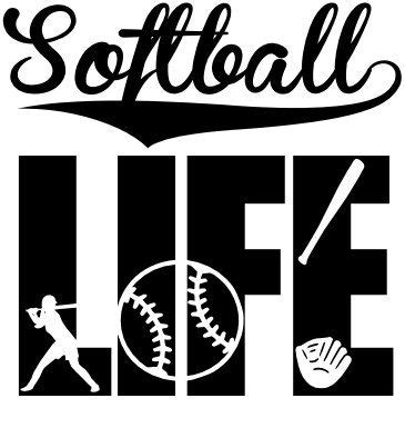 Svg cut files are a graphic type that can be scaled to use with the silhouette cameo or cricut. SVG Softball Svg Softball Life svg by CreationsByK8Studio ...