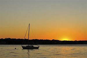 Sailboat Silhouette Photograph by Terry DeLuco