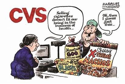 Cvs Cigarettes Junk Smoking Selling Cartoon Gap
