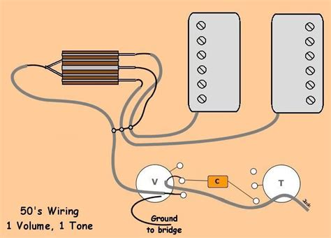 Volume Tone Way Wiring Project