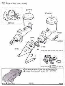 Brake Master Cylinder  Single System    Canley Classics