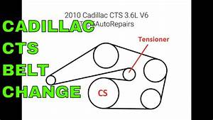 Cadillac Cts V6 3 6 L Serpentine Belt Routing Diagram