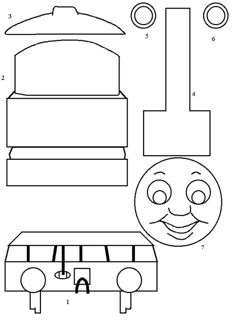 template engine and friends the tank engine paper craft
