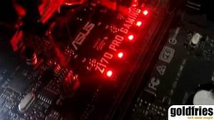Led On Asus Z170 Pro Gaming Motherboard