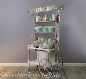 Candy Bar Wagen Kaufen : vintage wedding candy bar perfekt f r eure shabby chic hochzeit ~ Indierocktalk.com Haus und Dekorationen