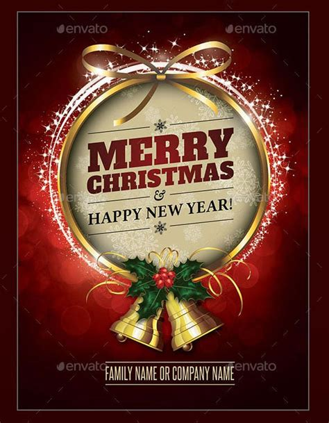 christmas card templates  psd eps vector ai