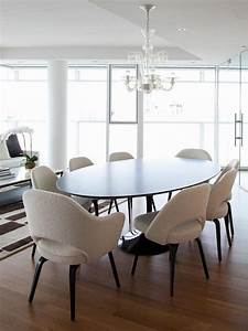 15 astounding oval dining tables for your modern dining room With modern round dining room table
