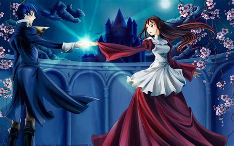 beautiful anime couple wallpaper hd images  hd