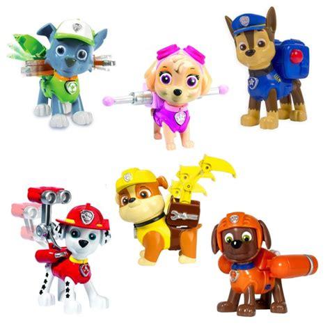 figurine pat patrouille figurine pat patrouille paw patrol sac 224 dos coffret 6 figurines jeux et jouets spin