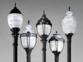 Decorative Street Lamp Post rg led rg led post top prismatic refractive led acorns