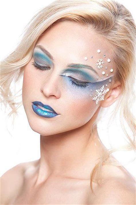 winter themed fantasy makeup  ideas