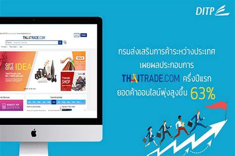 เผยผลประกอบการ Thaitrade.com ครึ่งปีแรก 63%