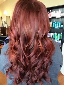 Balayage Braun Rot : balayage highlights red hair hair on pinterest balayage natural red and red hair hair ~ Frokenaadalensverden.com Haus und Dekorationen