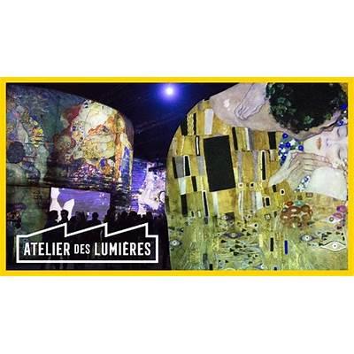 ATELIER DES LUMIERES PARISGustav Klimt Hundertwasser
