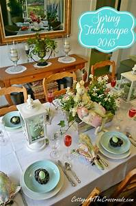 Spring Tablescape 2013 - Cottage at the Crossroads