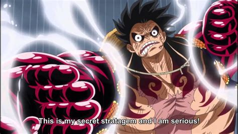 piece luffy gear  transformation eng subbed youtube