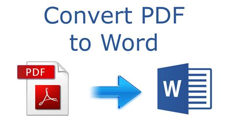 How To Convert Pdf To Word 2016 Tutorial Youtube