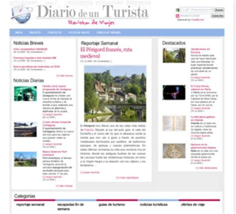 Noticias de turismo con Diario de un Turista