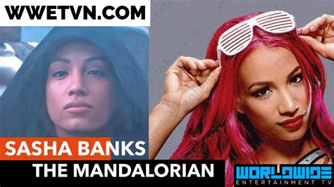 Sasha Banks Surprises Fans With Appearance In Mandalorian ...