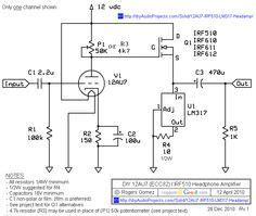 Circuit Diagram Of Headphone Amplifier