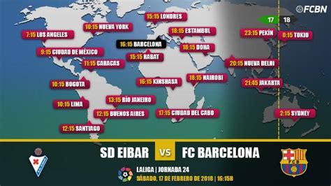Sd eibar vs fc barcelona. LaLiga Santander - Cuándo y dónde ver el Eibar vs FC Barcelona de la jornada 24