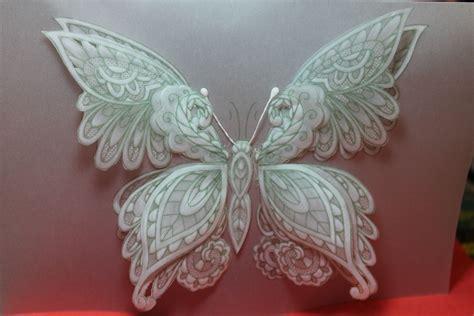 butterfly card tutorial  progress parchment craft