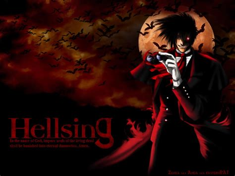animecheck hellsing hellsing wallpaper maceme wallpaper