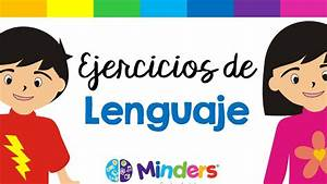 Ejercicios de lenguaje Terapia de Lenguaje Minders Psicología Infantil YouTube