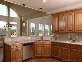 kitchen colour ideas 2014 pictures of kitchens traditional medium wood golden brown kitchen 20
