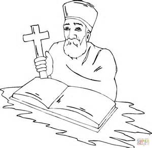 Cross Coloring Pages Printables