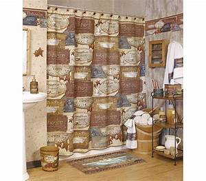 ideas for primitive country decor for bathroom walls With country themed bathroom accessories