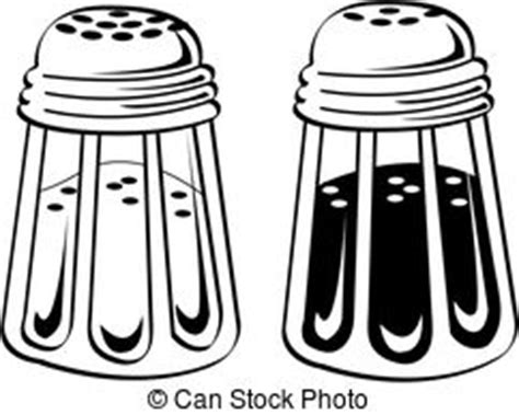 salt and pepper clipart black and white salt and pepper stock illustration images 3 105 salt and