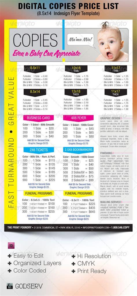 price list  design services localadz