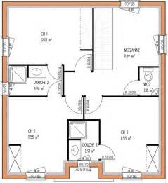 Plan De Maison 3 Chambres A Etage by Avant Projets De Construction De Maison En Loire Atlantique