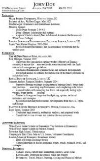 resume gpa in major resume gpa