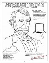 Lincoln Abraham Coloring Canyon Grand Presidents Printable President Sheet Activity Sheets Getdrawings Sunday Getcolorings Memorial History Visit Colorings Popular sketch template