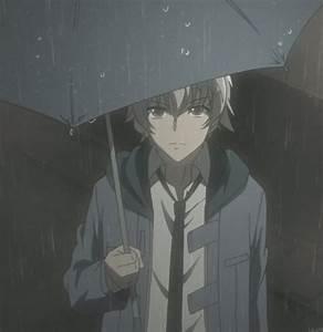 Rain in Anime.