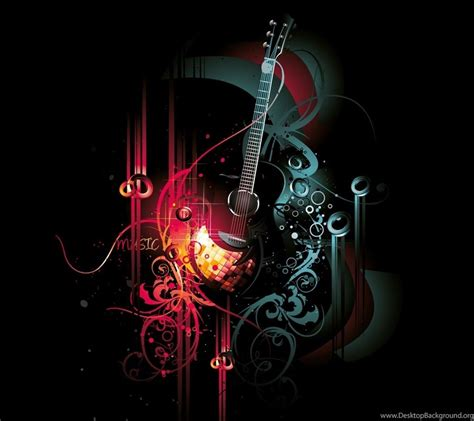 Abstract Guitar Wallpapers Hd Abstract Guitar Background 1