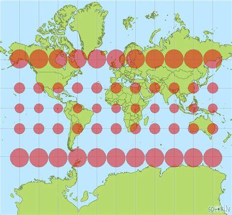 Maldinošā ģeogrāfiskā karte. - Spoki