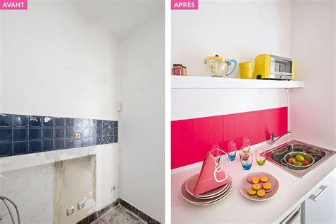 cuisine girly avant après une cuisine glossy et girly maison créative